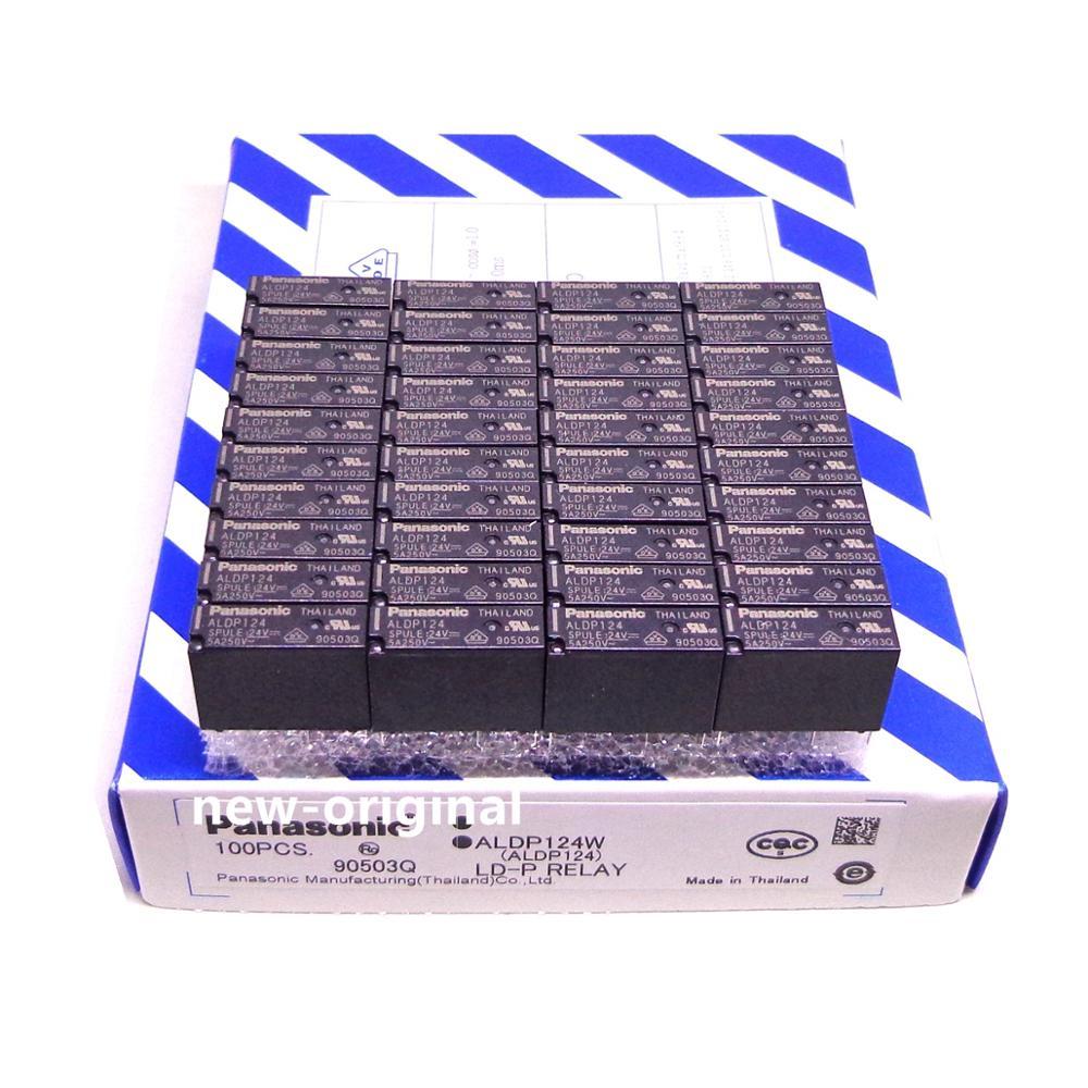 100PCS/BOX RELAY ALDP112 ALDP124 12V 24V DC relay new and original